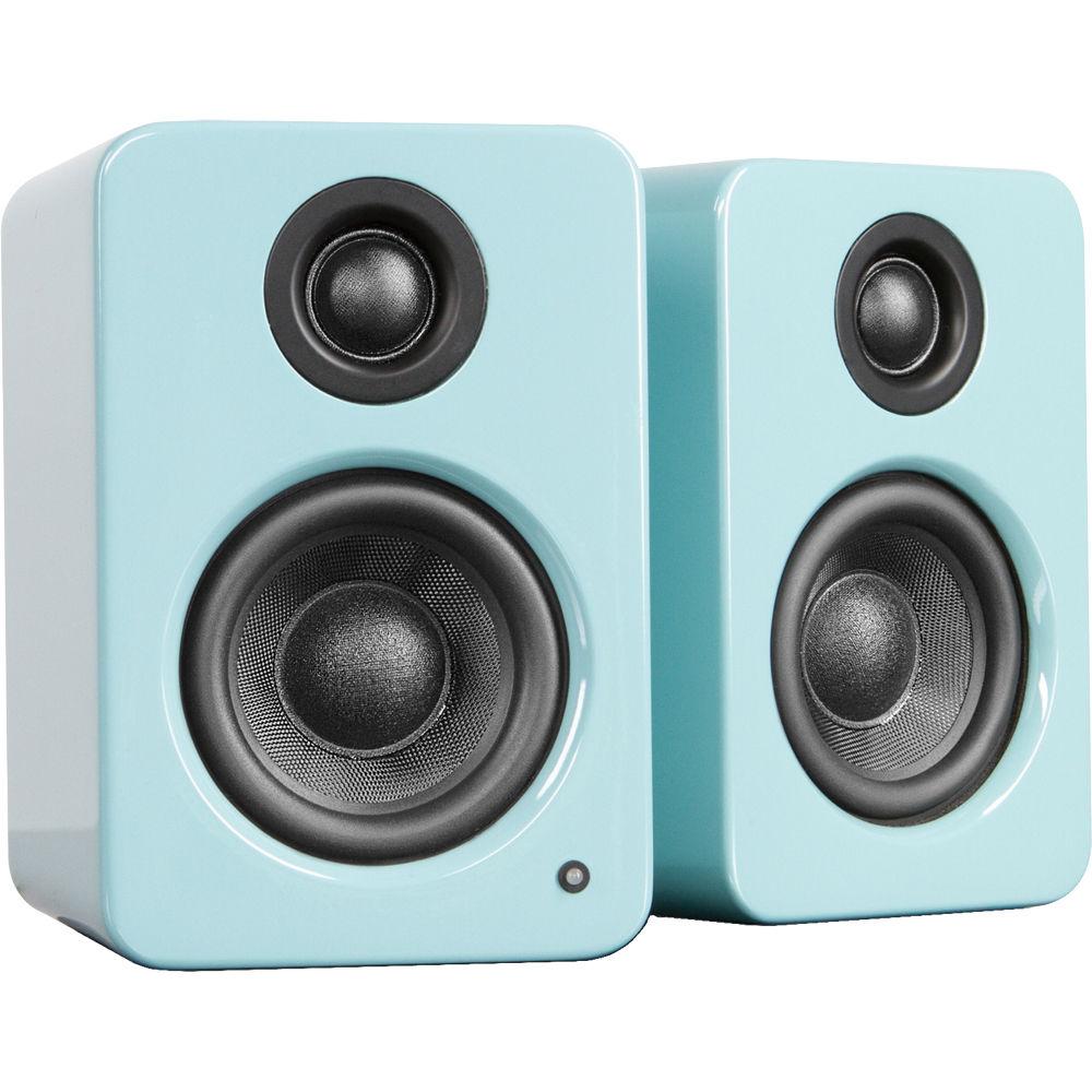 Kanto Living YU2 Powered Desktop Speakers (Glossy Teal) YU2GT