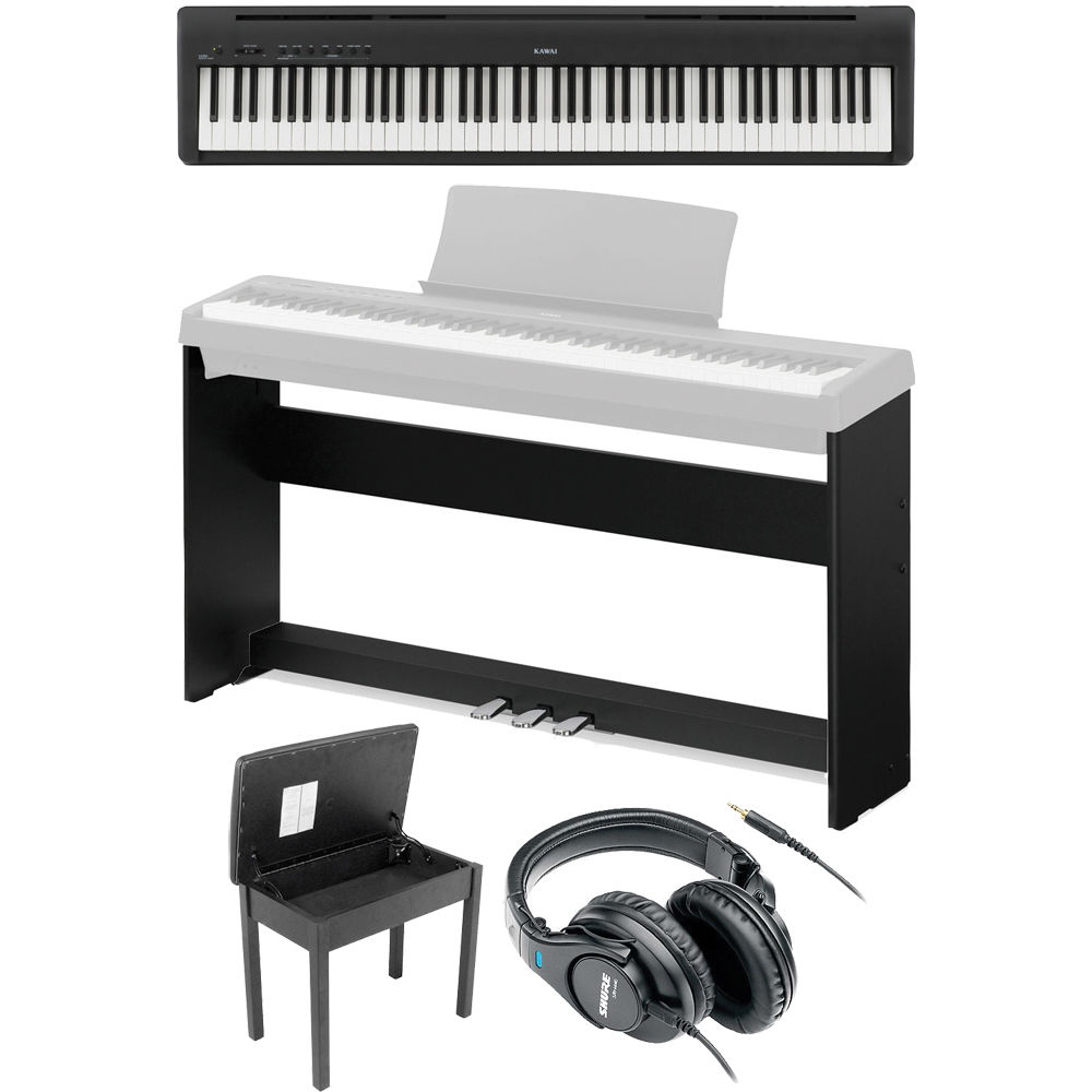 kawai es100 studio and home package b h photo video. Black Bedroom Furniture Sets. Home Design Ideas