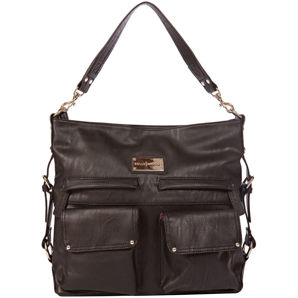 kelly moore bag 2 sues shoulder bag kmb sueb blk km 3001 b h. Black Bedroom Furniture Sets. Home Design Ideas
