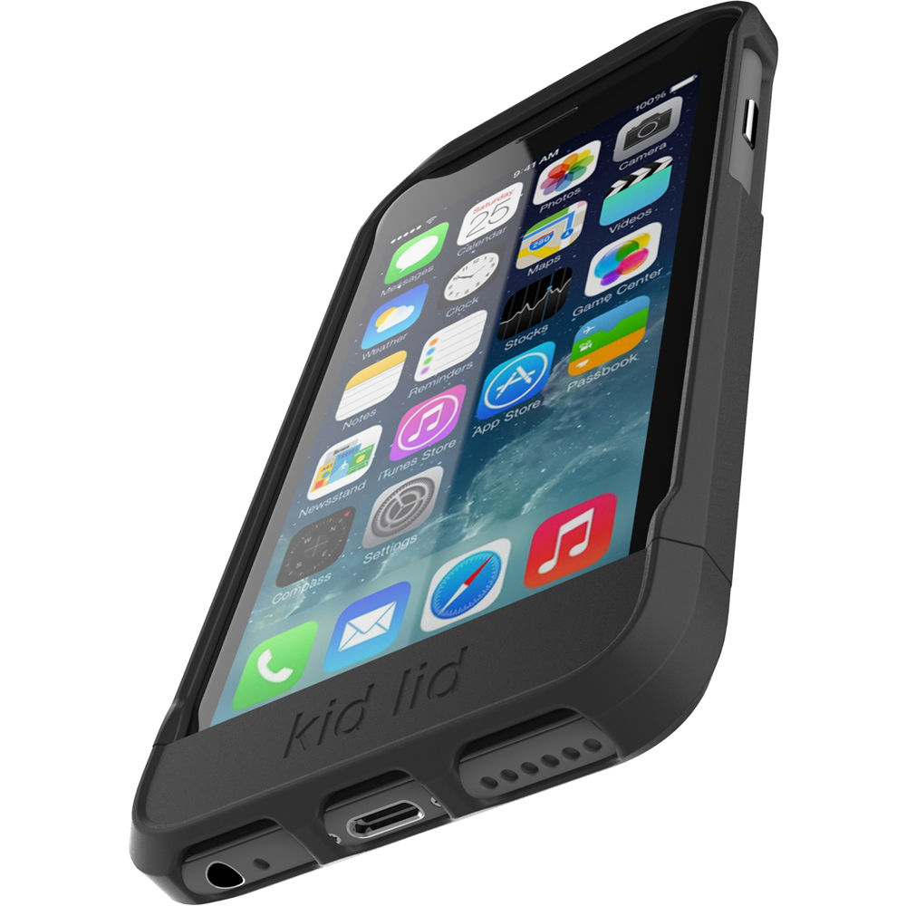 Kid Lid Dual Function Case For IPhone 6/6s (Black
