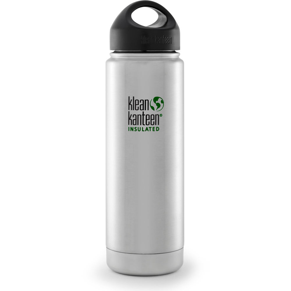 Klean Kanteen Vacuum Insulated Wide Water Bottle K20VWSSL ...