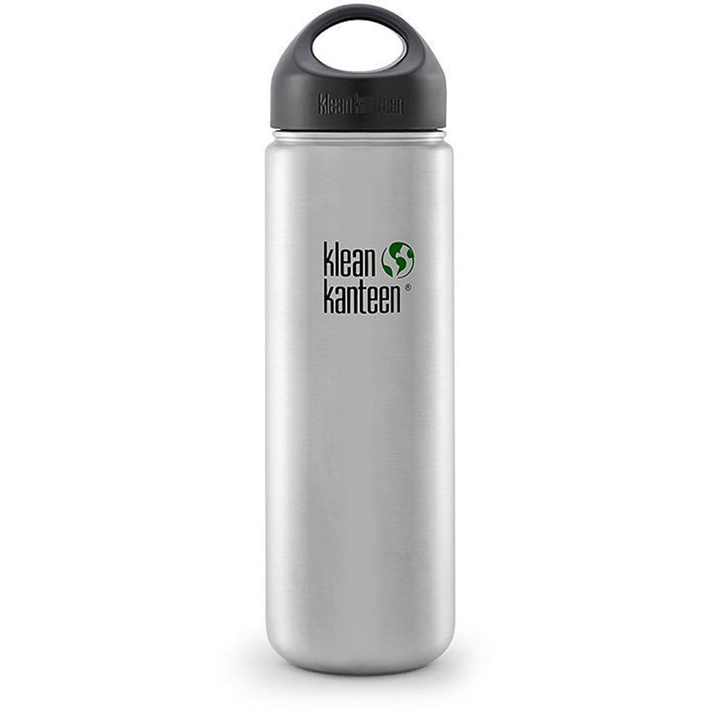 Klean Kanteen Wide Stainless Steel Water Bottle K27WSSL-BS B&H