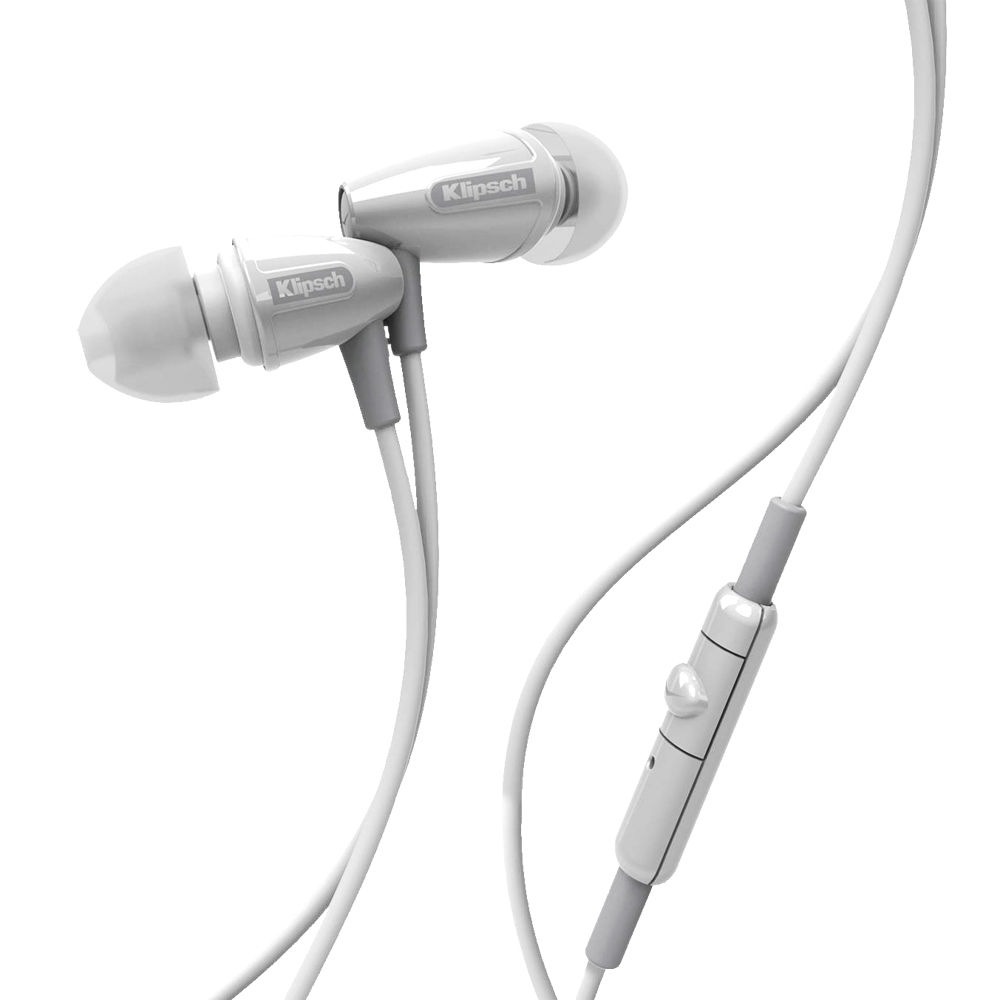 Earbuds holders - klipsch earbuds white