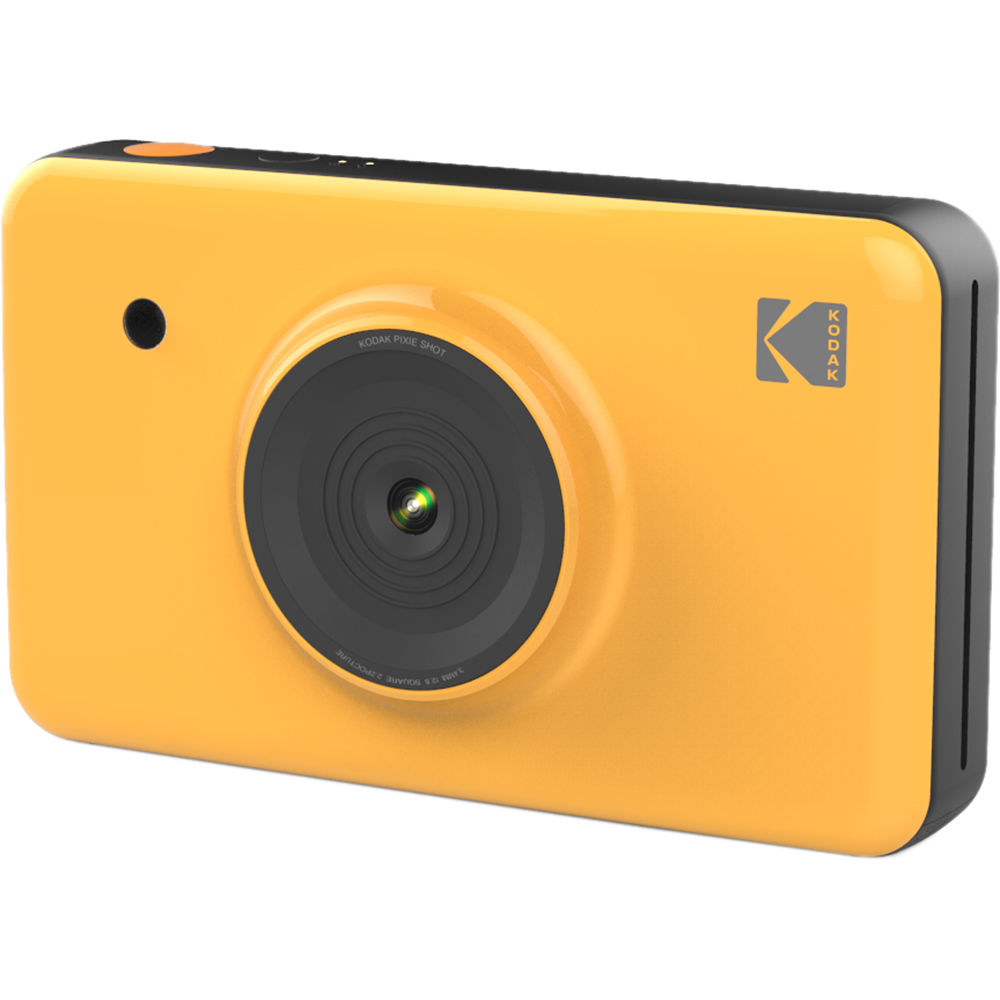 Kodak MiniShot Instant Digital Camera (Yellow) KODMSY B&H ...