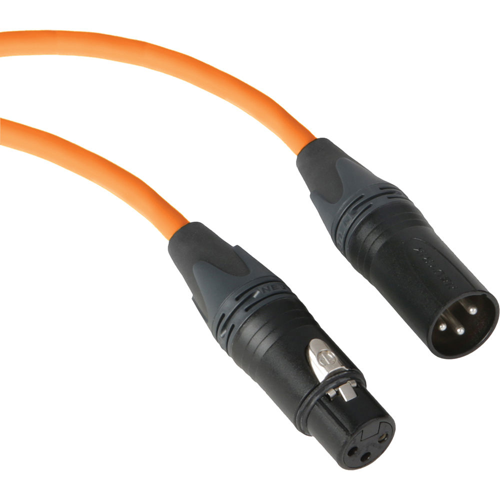 Kopul Premium Performance 3000 Series Xlr M To F M3025 O Bh Orange Extension Cord Wiring Diagram Microphone Cable 25
