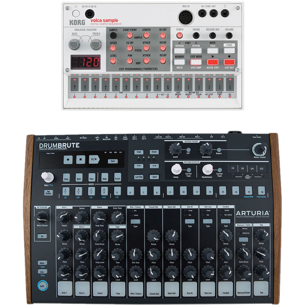 volca sample Digital Sample Sequencer and Drum Machine Kit
