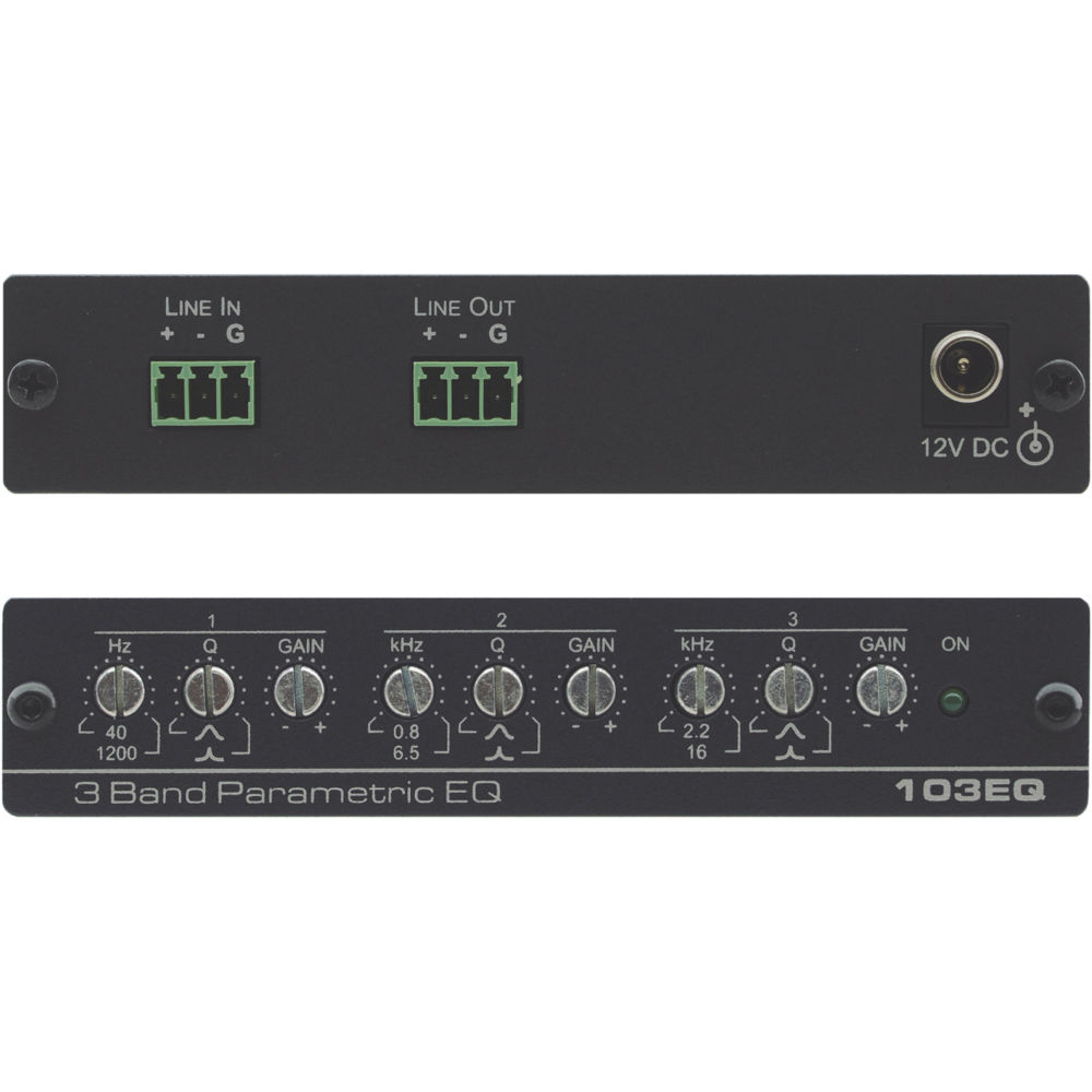 103EQ 3-Band Parametric Equalizer