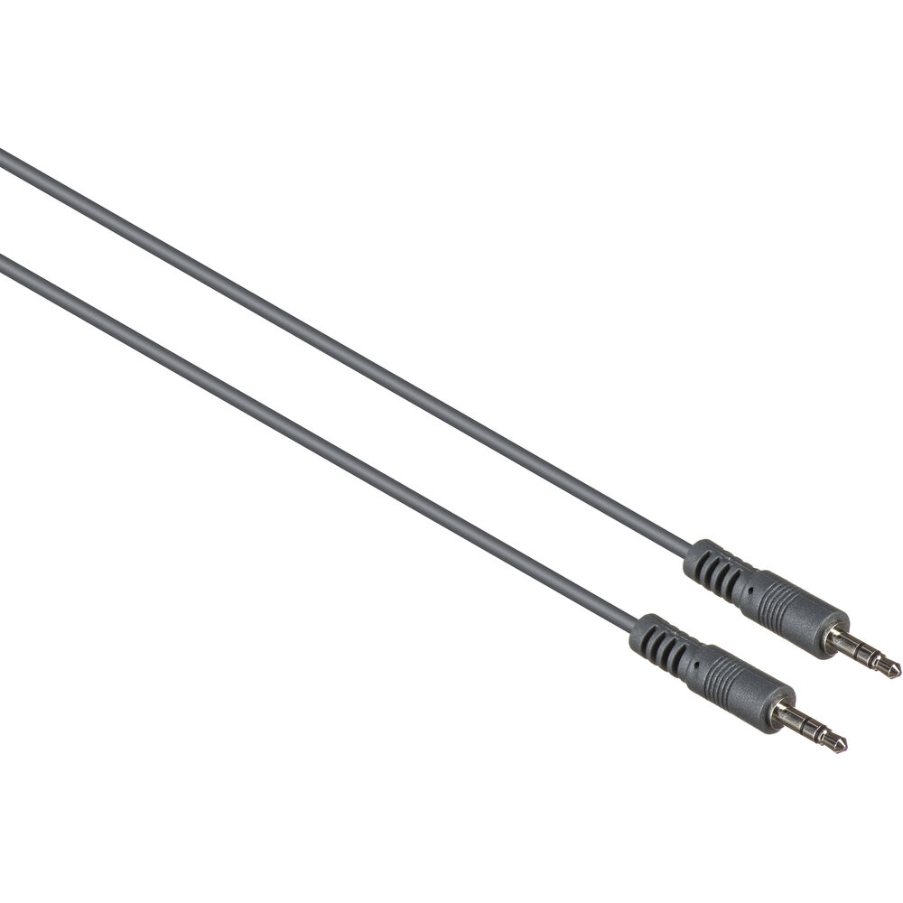 3 5mm Audio Cable : Kramer mm male to stereo mini audio c a m