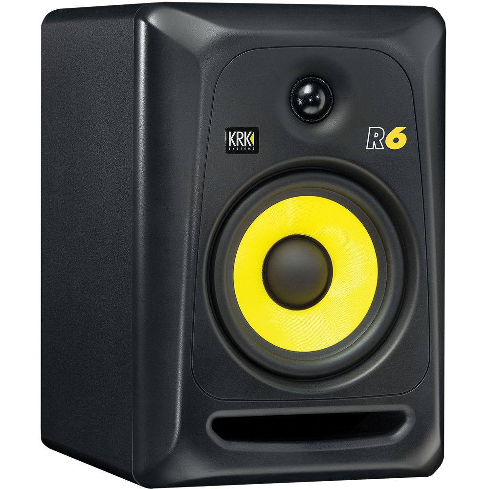 krk r6 6 two way passive studio monitor single. Black Bedroom Furniture Sets. Home Design Ideas
