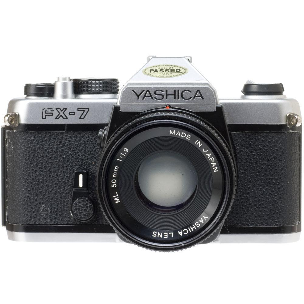 used kyocera yashica fx 7 super 35mm slr manual focus camera rh bhphotovideo com Omni 2 Digital Camera Manual Sony Digital Camera