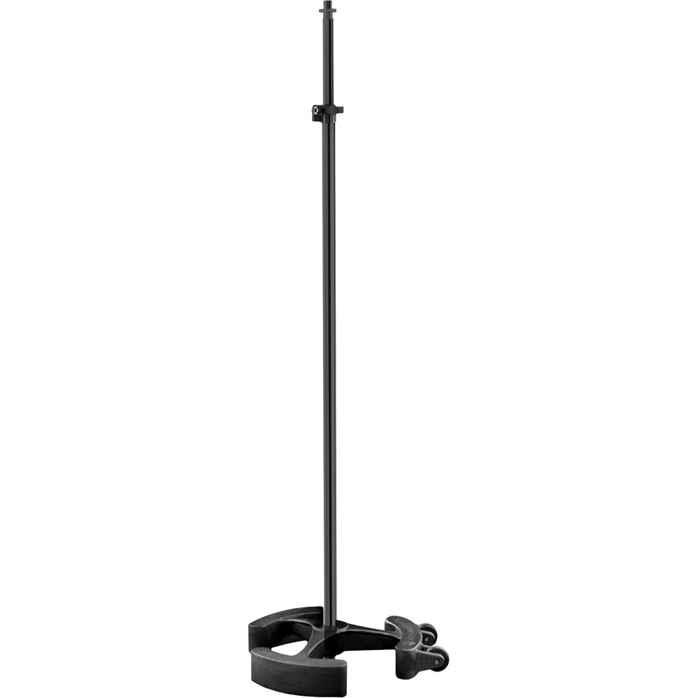 latch lake micking 2200 straight microphone stand mk2200stbk b h. Black Bedroom Furniture Sets. Home Design Ideas