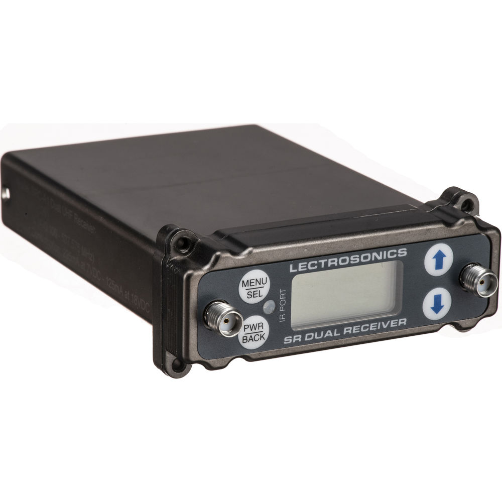 Lectrosonics Src Dual Channel Slot Mount Eng Receiver A1 Bh Fm Transmitter Circuit With High Frequency Stability Free Electronic 470100 To 537575