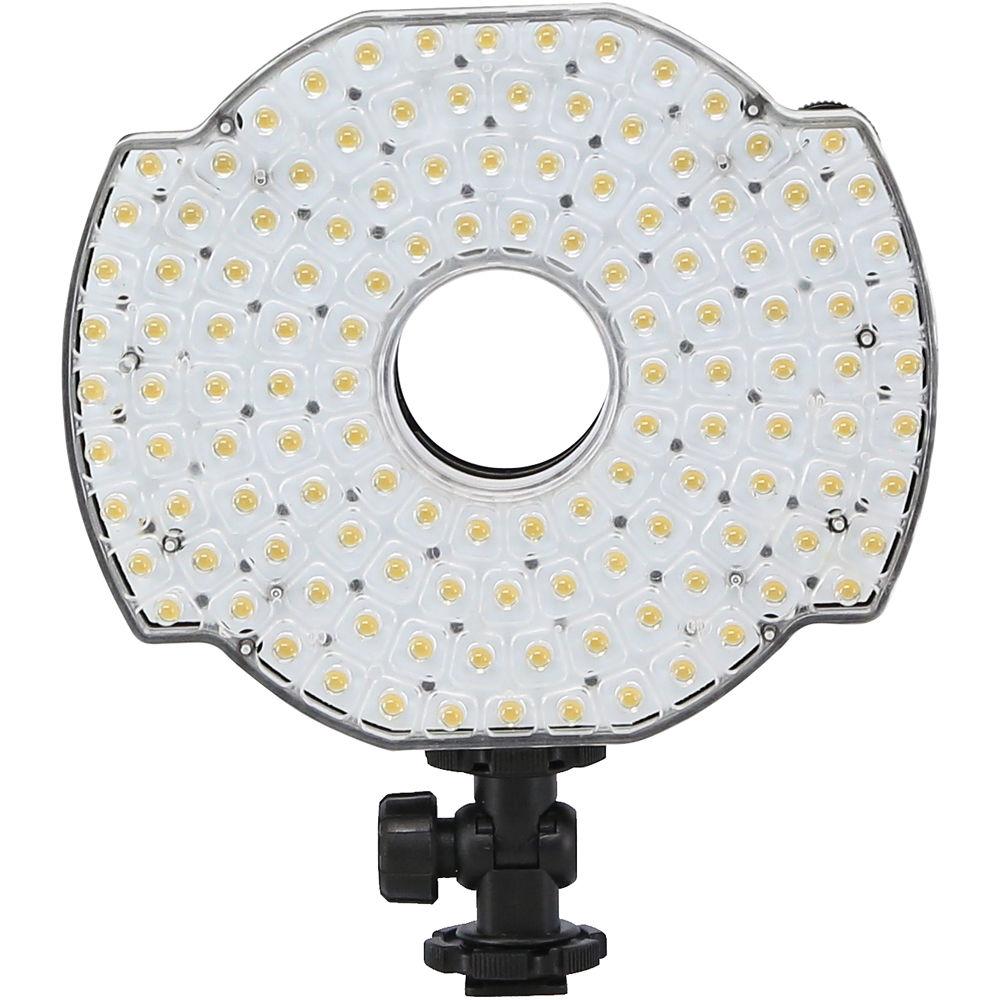 Ledgo 126 Led Microphone Mounted Ring Light For Dslr Video: Ledgo 126 LED On-Camera Ring Light LGR126 B&H Photo Video