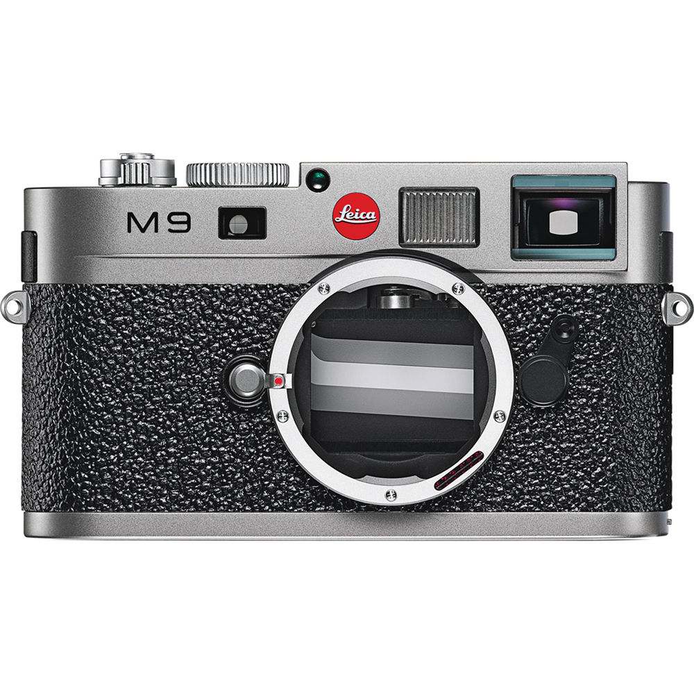 Leica M9 Rangefinder Digital Camera Body Steel Grey
