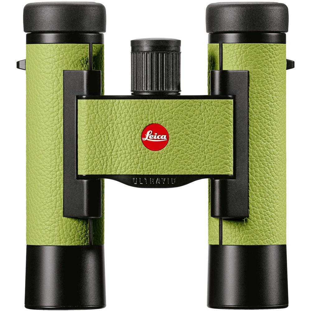 leica 10x25 ultravid colorline binocular apple green. Black Bedroom Furniture Sets. Home Design Ideas