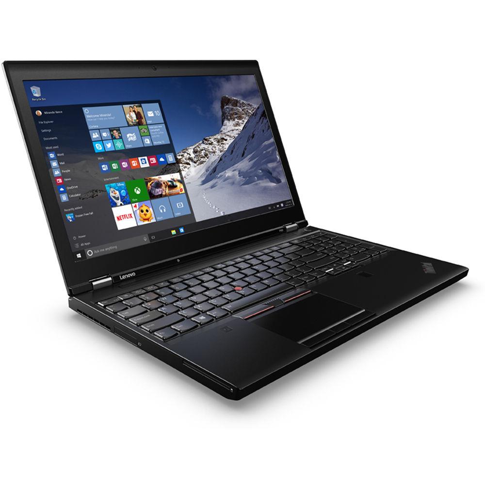 Lenovo 15 6 Quot Thinkpad P50 Mobile Workstation 20en001sus