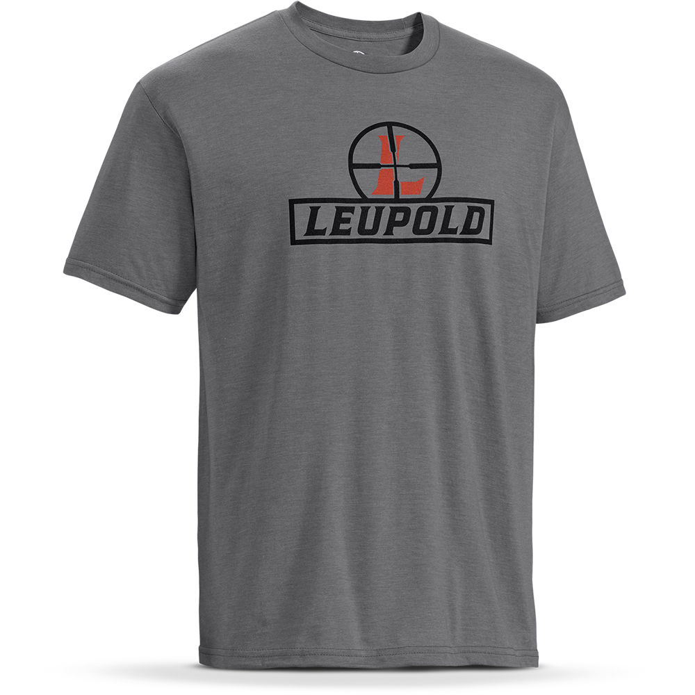 leupold short sleeve reticle t shirt 170530 b h photo video. Black Bedroom Furniture Sets. Home Design Ideas