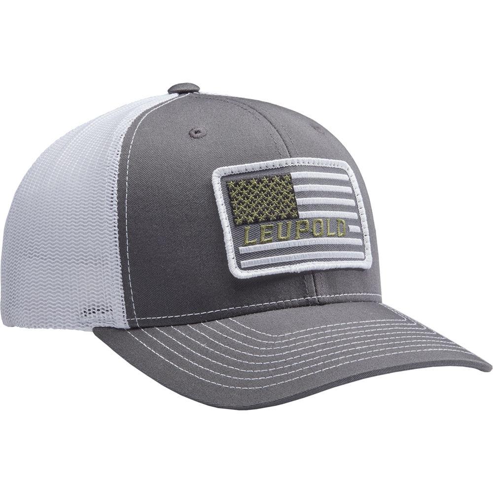 Leupold  112 Flag Patch Trucker Hat 172603 B H Photo Video eaf28151126