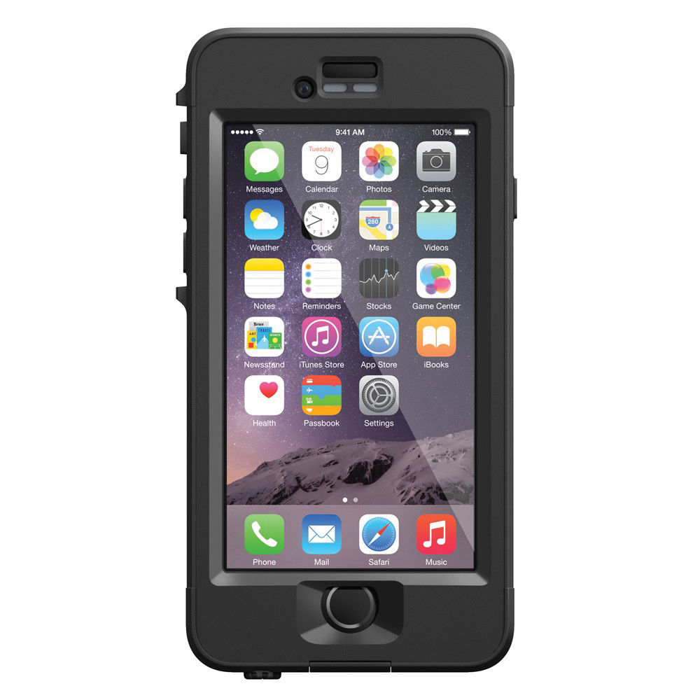 Lifeproof n d case for iphone 6 black 77 50307 b h for Housse iphone 5 c