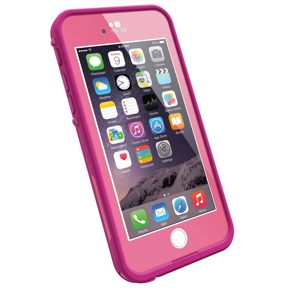 lifeproof fr case for iphone 6 power pink 77 50336 b h photo. Black Bedroom Furniture Sets. Home Design Ideas