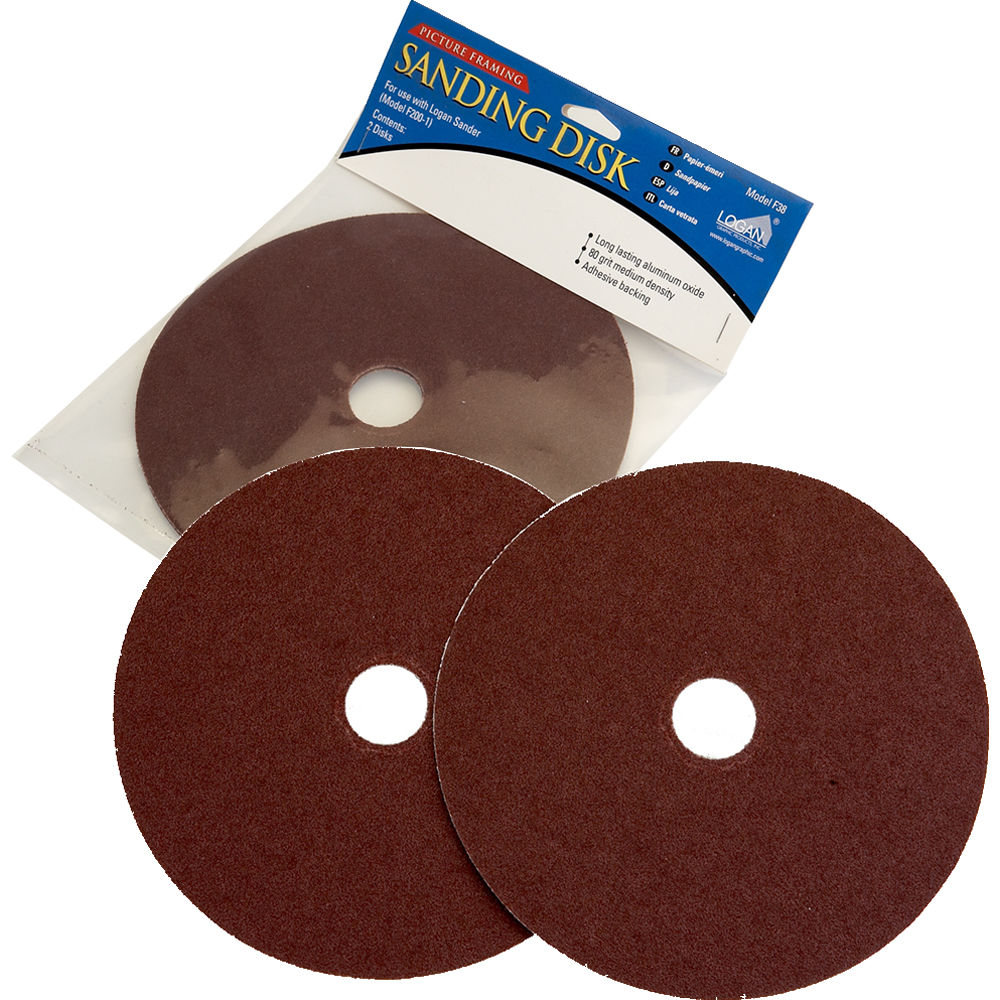 Logan Graphics 8 Replacement Sanding Disk For F200 1 Sander