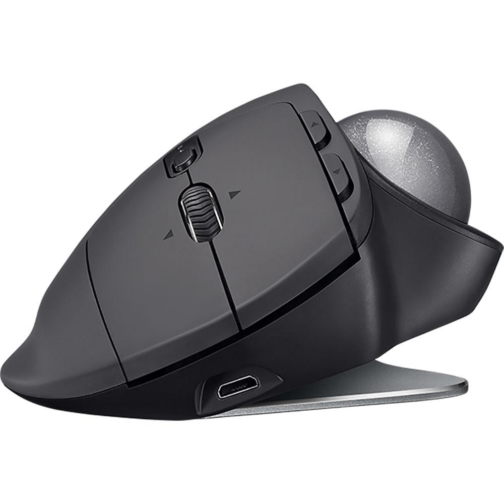 094d4cca54d Logitech MX Ergo Wireless Trackball Mouse 910-005177 B&H Photo