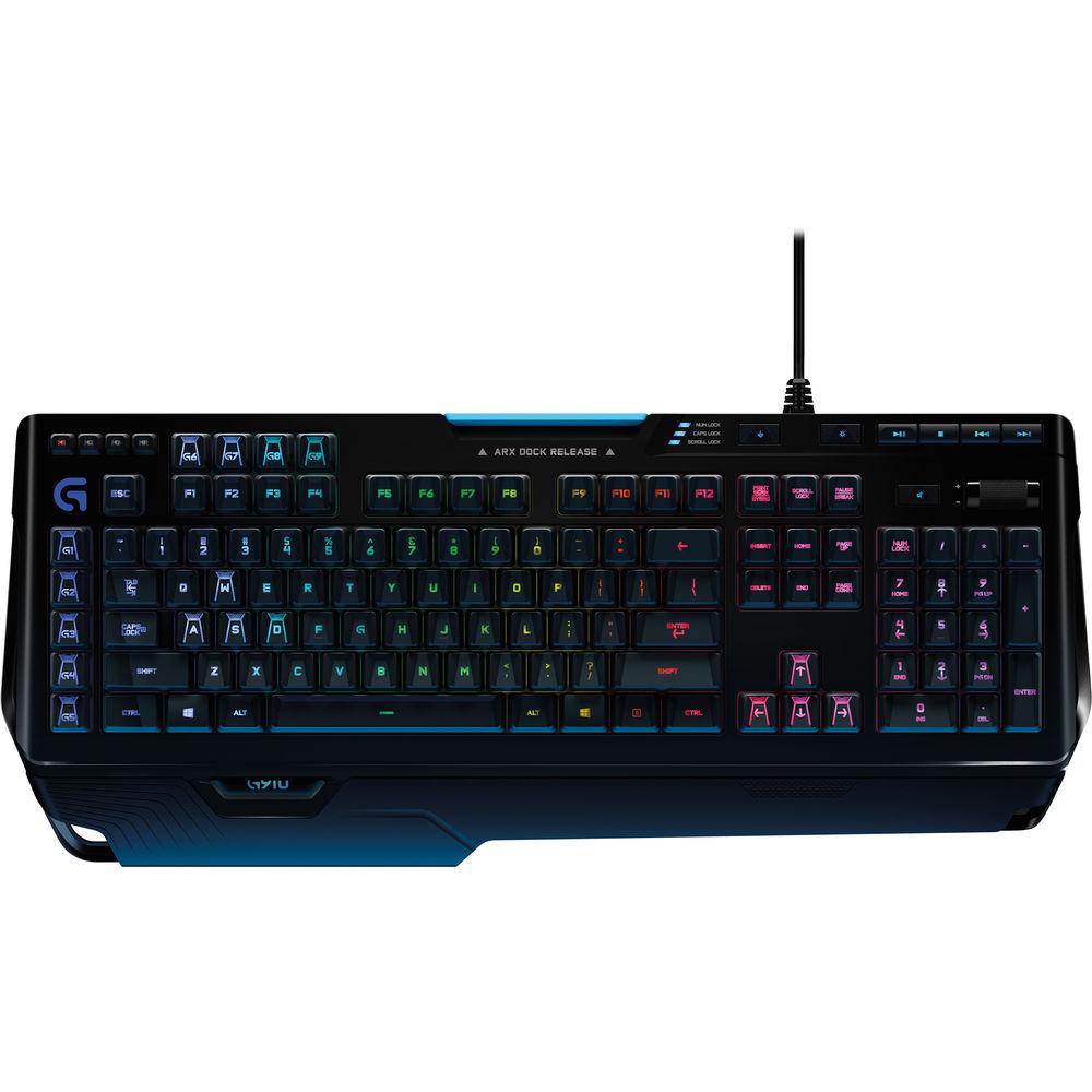 Logitech G910 Orion Spark Rgb Mechanical Gaming 920 006385 B H