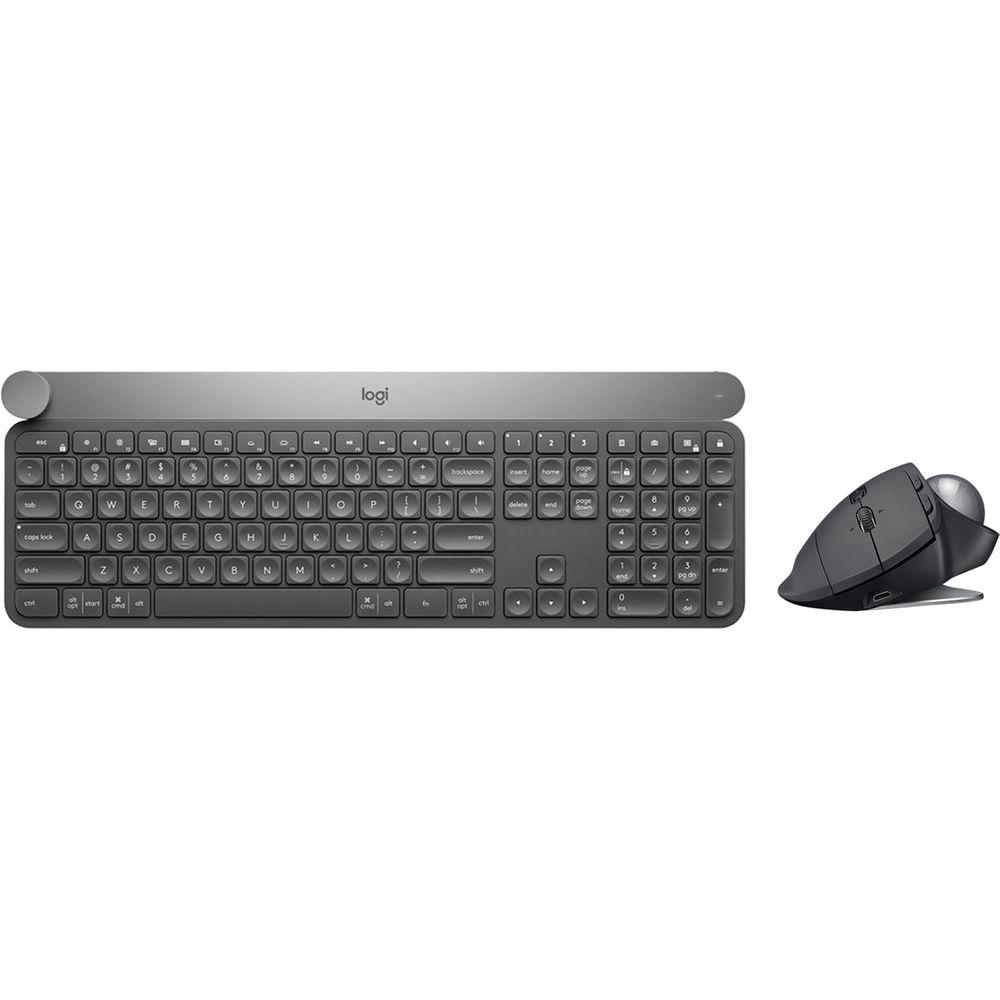 c0155af92ce Logitech Craft Wireless Keyboard & MX Ergo Wireless B&H