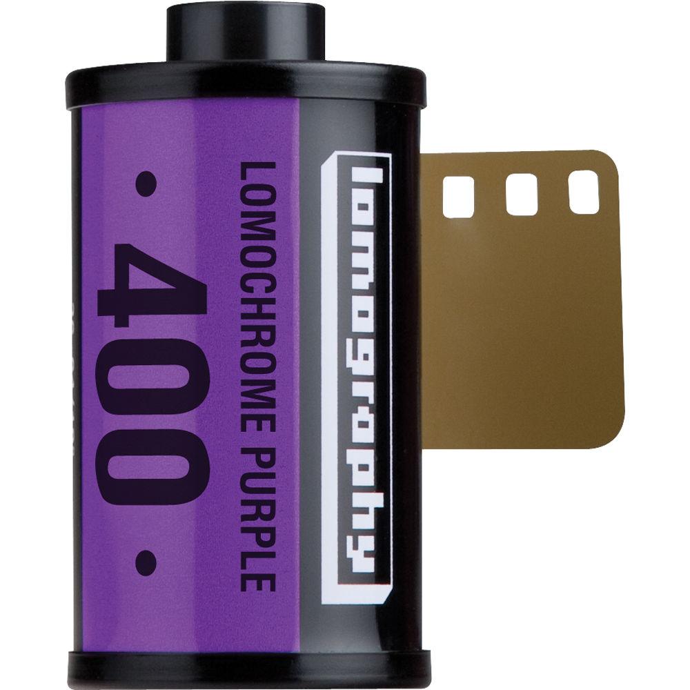 Lomography LomoChrome Purple XR 100-400 Color Negative ...
