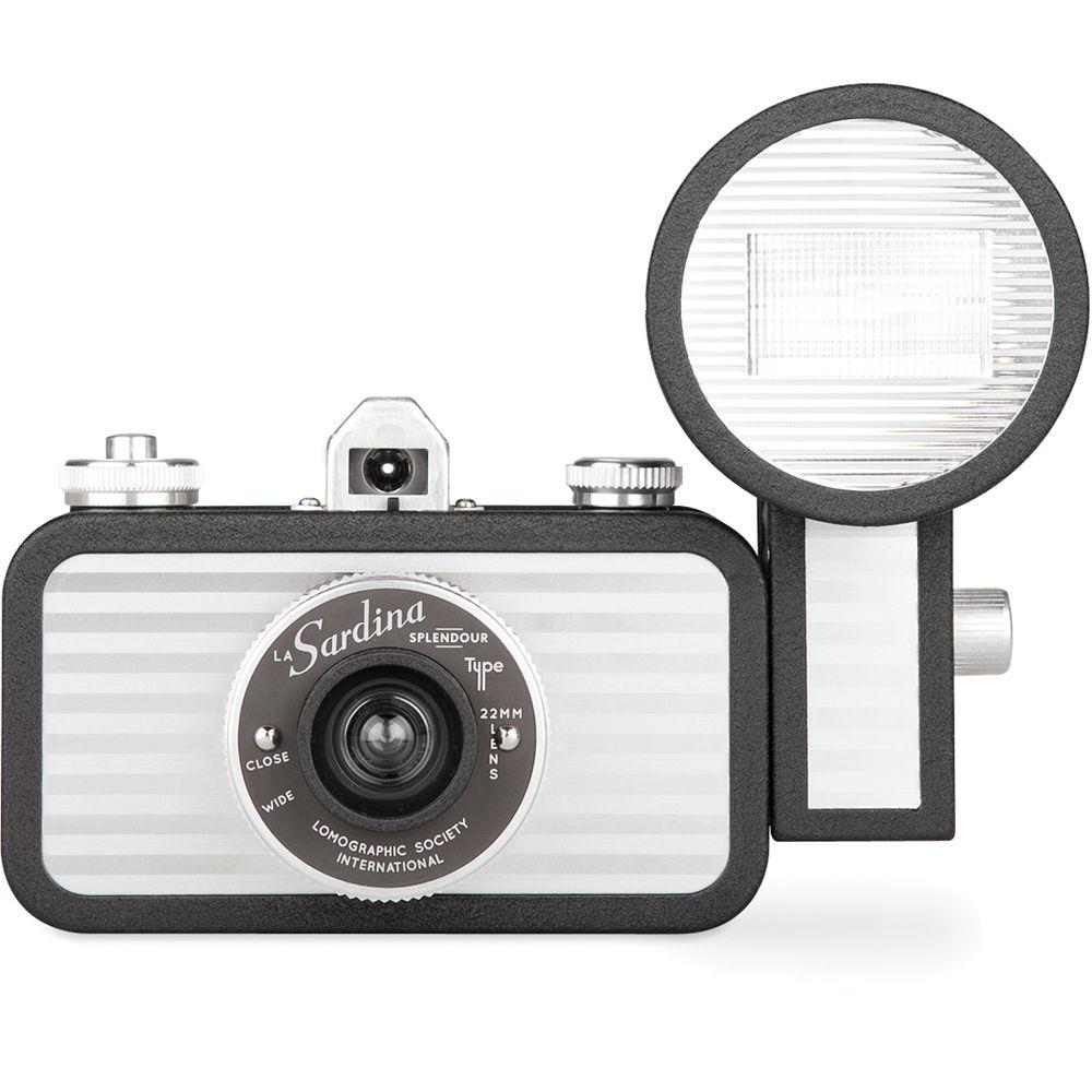 Lomography La Sardina Splendour Camera with Flash SP400SD B&H