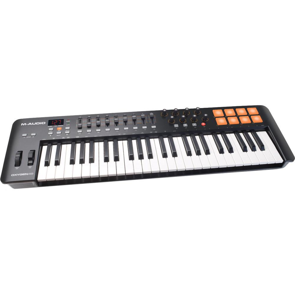 Midi Controller Oxygen 49 : m audio oxygen 49 iv usb midi keyboard controller oxygen49iv ~ Vivirlamusica.com Haus und Dekorationen