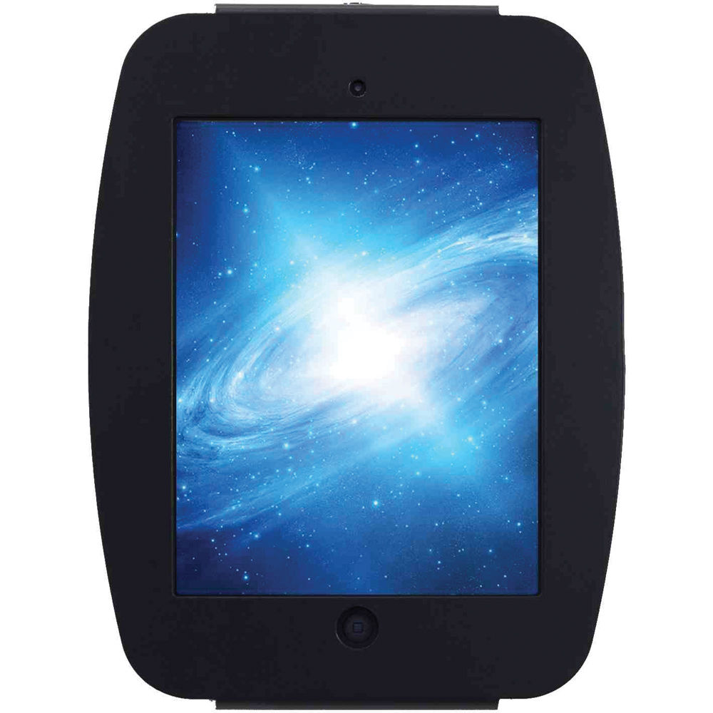 mac locks ipad mini enclosure wall mount black 235smenb b h. Black Bedroom Furniture Sets. Home Design Ideas