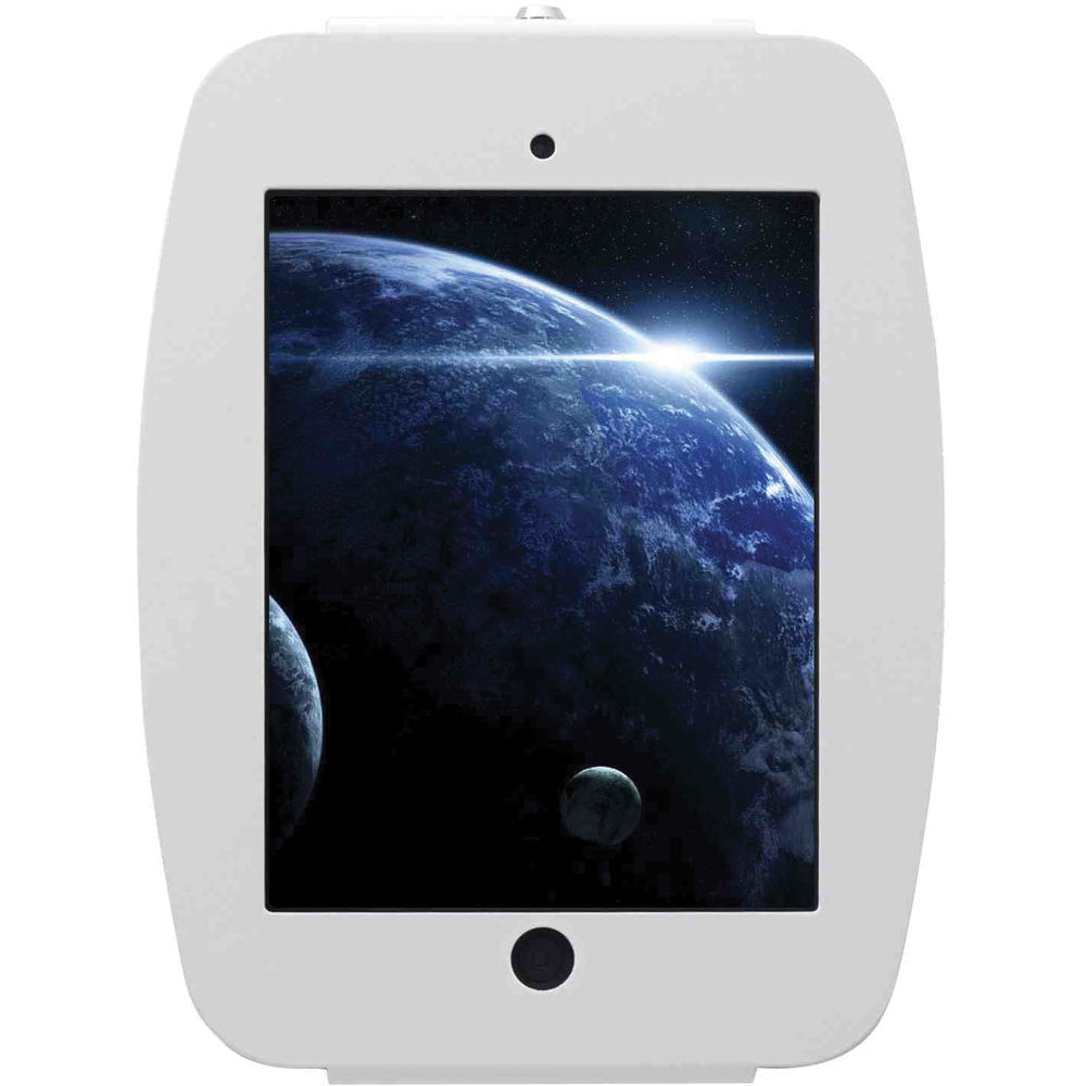 mac locks ipad mini enclosure wall mount white 235smenw b h. Black Bedroom Furniture Sets. Home Design Ideas