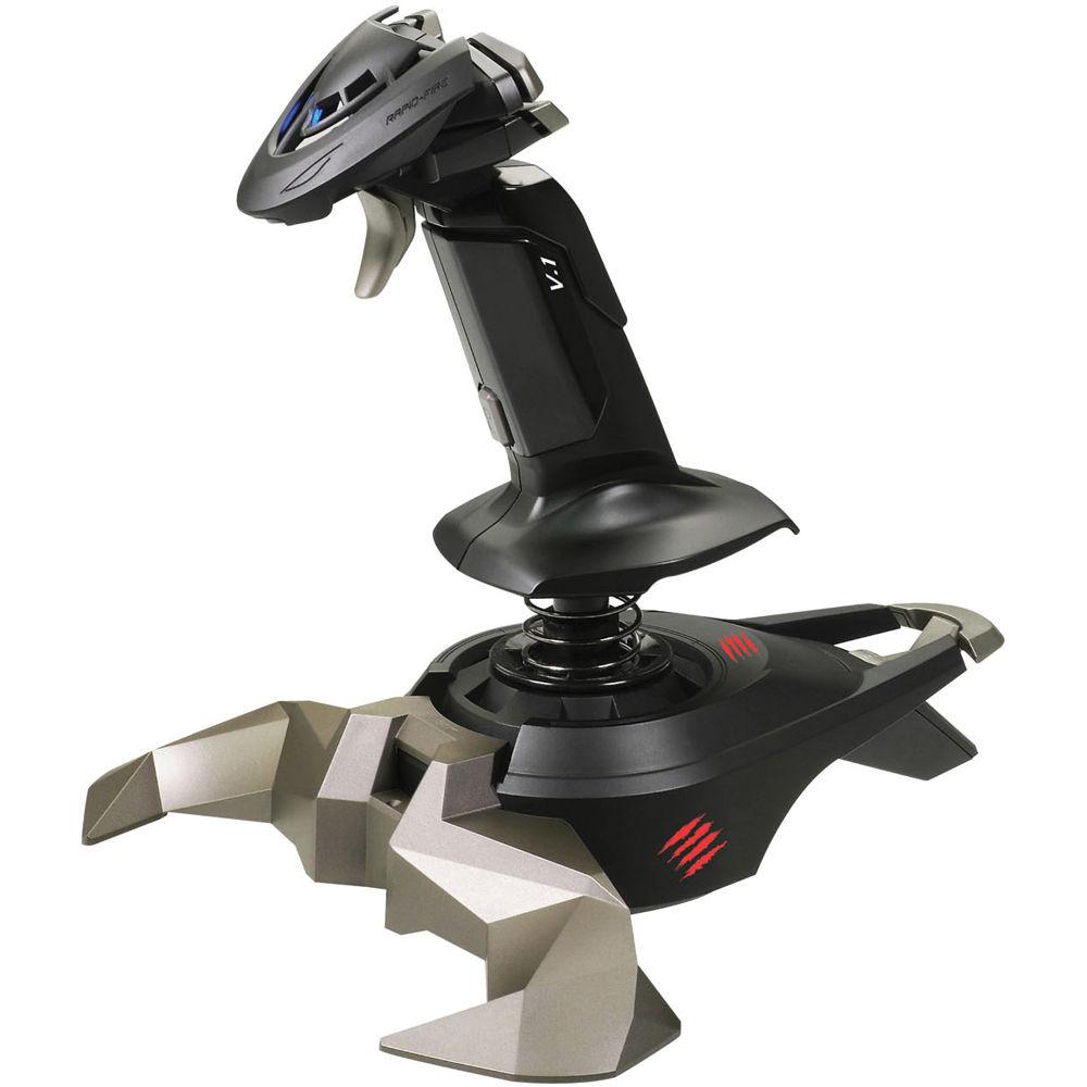 Mad Catz Cyborg V.1 Flight Stick for PC MCB4423700B2/04/1 B&H