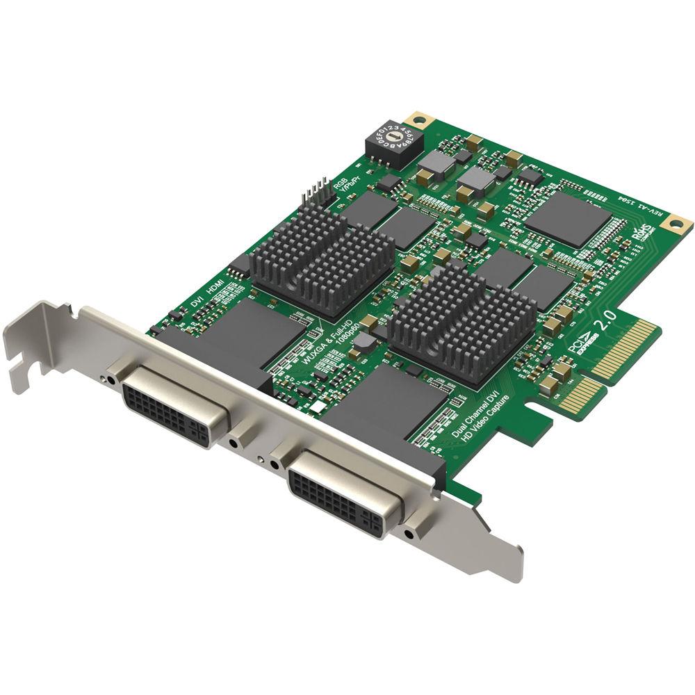 Magewell Pro Capture Dual DVI HD Capture Card 11070 B&H Photo