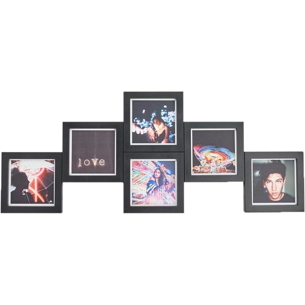 magnaframe 4x4 Square Frames (6-Pack, Black) MF03001 B&H Photo