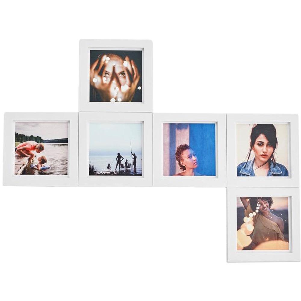 magnaframe 4x4 Square Frames (6-Pack, White) MF03002 B&H Photo