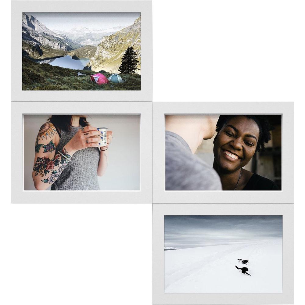 magnaframe 4x6 Frames (4-Pack, White) MF04002 B&H Photo Video