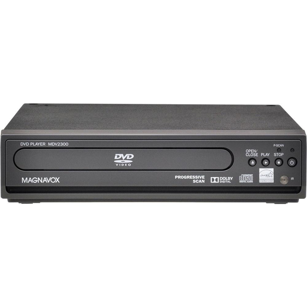 magnavox mdv2300 dvd player mdv2300 f7 b h photo video rh bhphotovideo com Magnavox TV DVD Combo Magnavox DVD VCR Player