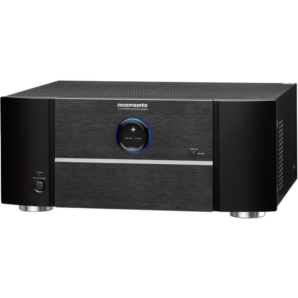 marantz mm8077 7 channel power amplifier mm8077 b h photo video. Black Bedroom Furniture Sets. Home Design Ideas