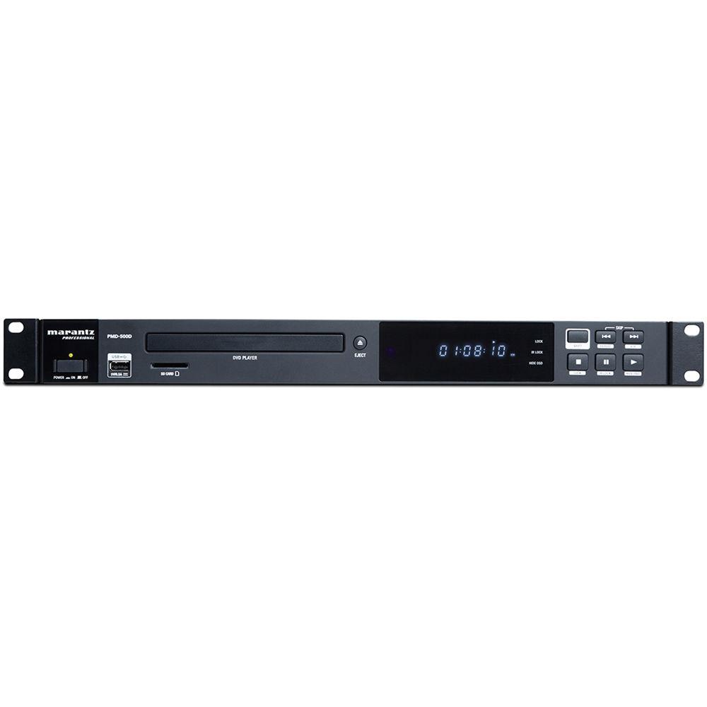 Marantz Professional Pmd 500d Media Player For Dvd Disc Sd Sdhc