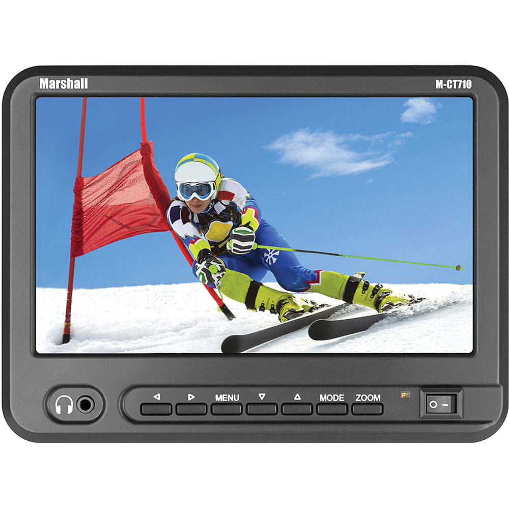 M Bel Marshall marshall electronics m ct710 7 quot portable m ct710 nel15 b h