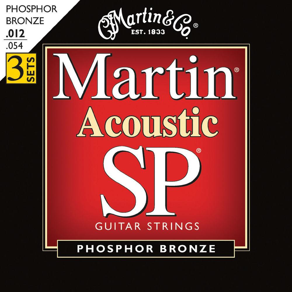 martin acoustic sp phosphor bronze guitar strings msp4100pk3 b h. Black Bedroom Furniture Sets. Home Design Ideas