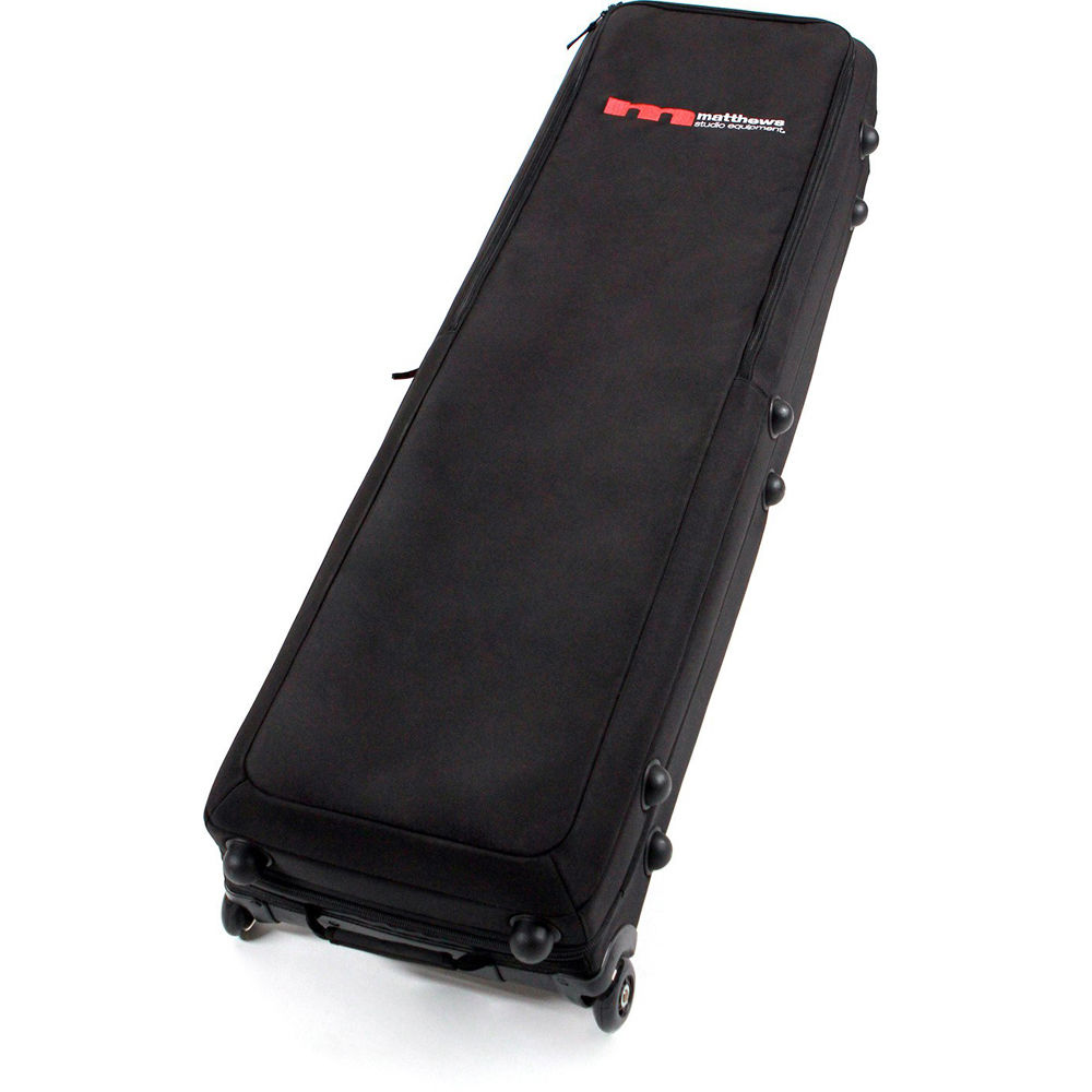 Matthews C Stand Rolling Kitbag For 3 Stands Black