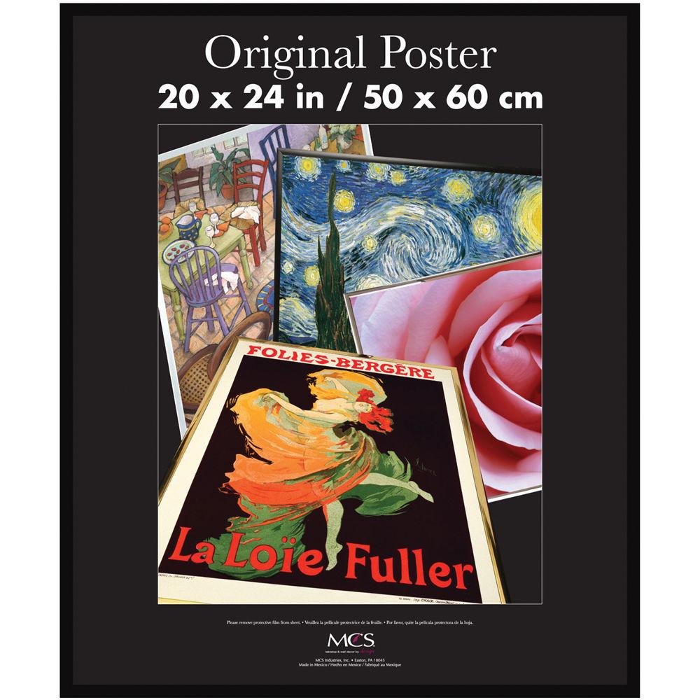 Mcs Original Poster Frame With Masonite Back 23054 Bh Photo