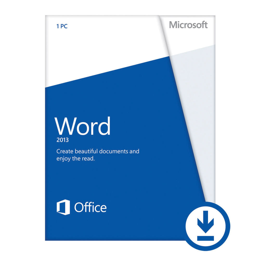 ms word 2013 license