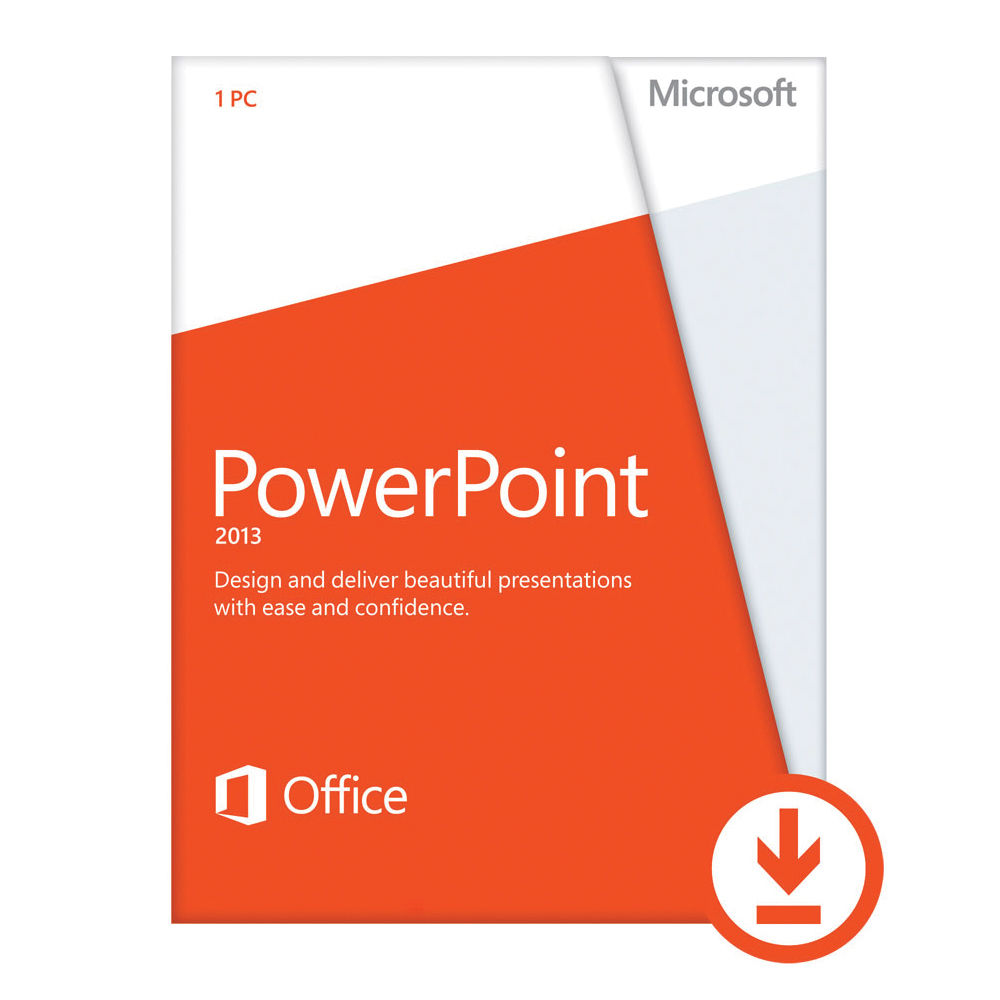 Microsoft PowerPoint 2013 Open License Download 079-06205 B&H