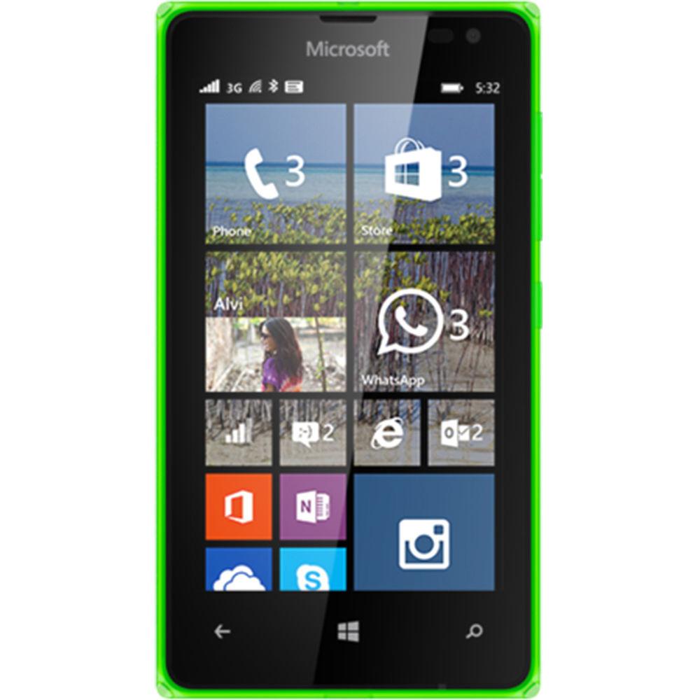 Microsoft Lumia 532 RM-1032 Dual SIM 8GB Smartphone (Unlocked, Green)