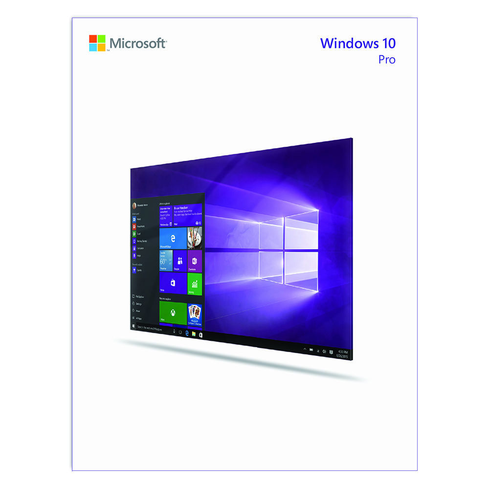 Microsoft windows 10 pro 32 64 bit download fqc 09131 b h for Window 10 pro
