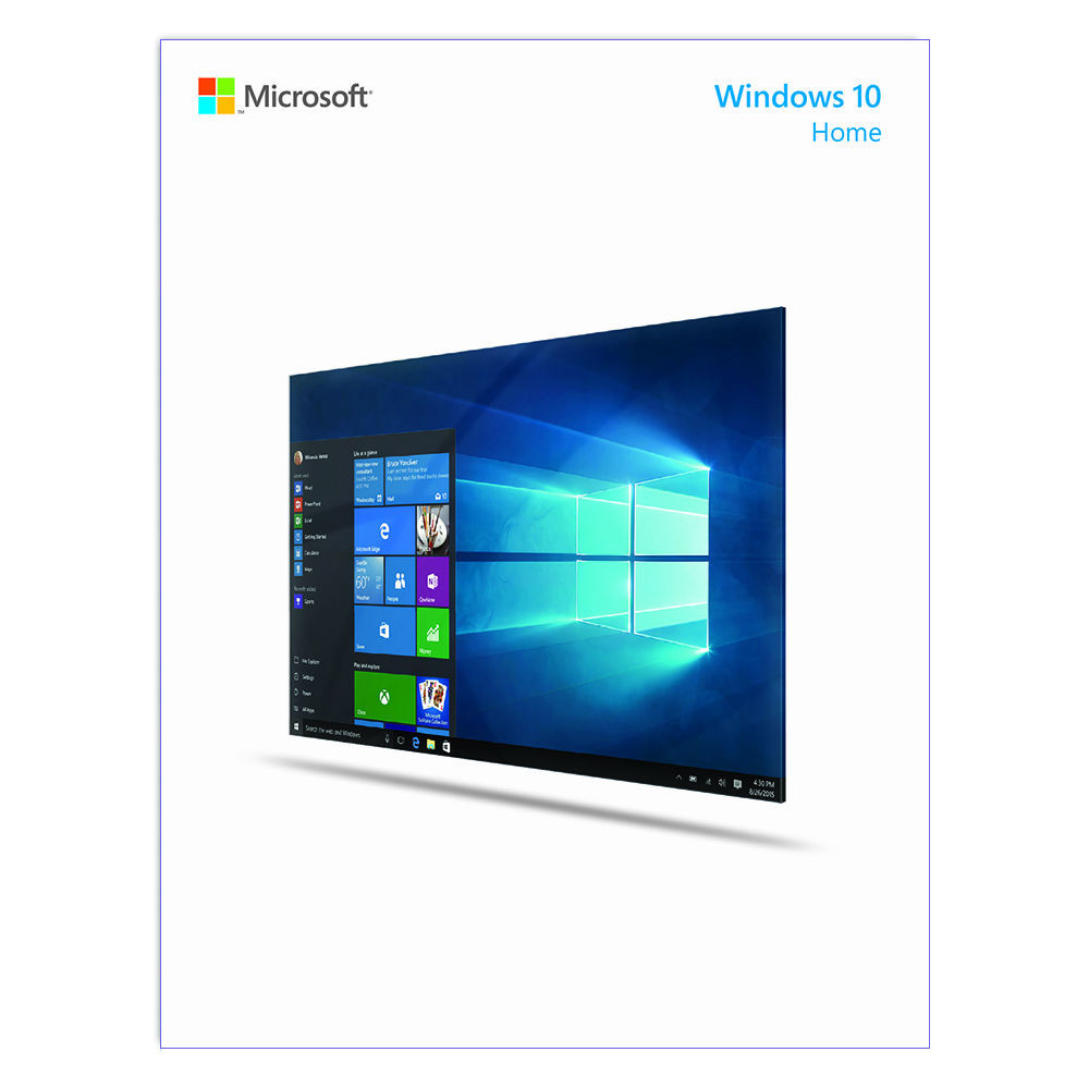 Microsoft windows 10 home 32 64 bit download kw9 00265 b h for What is microsoft windows